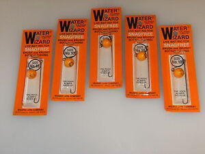 Lures Lot of 100 Water Wizard Bait Rig lures Walleye Bass new in pack size 10
