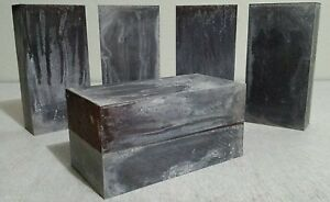2 ea Lead bricks excellent for radiation shielding Ballast in race cars bullet
