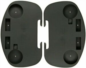 Clip-On Utility Tray w Cup Holders for A-Frame Gravity Recliner Chairs - 2 Pack