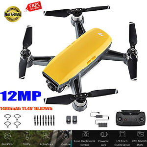DJI Spark Mini 2.4G RC Selfie DroneS WiFi FPV 1080P 12MP Camera 2-axis Aircraft