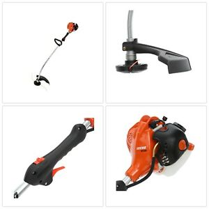 Gas Hedge Trimmer Curved Shaft Outdoor String Cutter Light Weight Adjustable