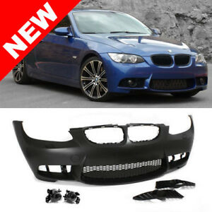 07-10 BMW E92/E93 3-Series M3 Style Non-PDC Front Bumper Kit w/ Clear Fog Lights