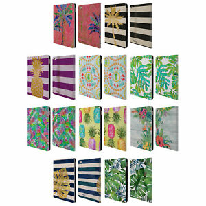 OFFICIAL PAUL BRENT TROPICAL LEATHER BOOK WALLET CASE COVER FOR APPLE iPAD