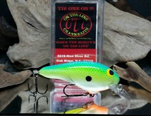 On The Line Custom Crankbait DJ 2*Citrus*Fishing Lure