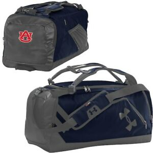 Under Armour Auburn Tigers NavyGraphite Good Performance Backpack Duffel Bag