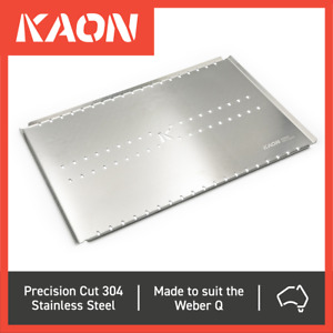 Stainless Steel Convection Tray to suit the Weber Q BBQ Trivet (Medium Size)