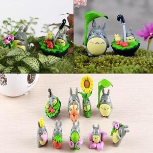 Studio Ghibli My Neighbor Totoro Japanese Cute Anime Figure Dolls Toys 9pcs  FZ