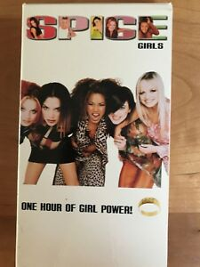 Spice World VHS 1998 and The Spice Girls VHS -- Get them Both! Rare