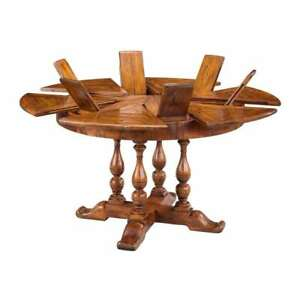 Very Small Jupe Table made from Solid Walnut 45 inch to 56 inch