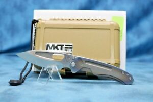 MEDFORD KNIFE & TOOL - INFRACTION! BRONZE TO PURPLE ANODIZED HANDLE! SWEET!!!