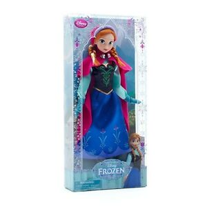 New Authentic Disney Store Exclusive FROZEN Anna Classic 12quot; Doll Collection $26.00