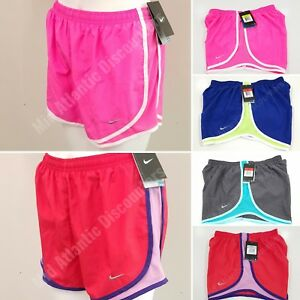 NWT Nike Women's Tempo Running Athletic Shorts Multi Colored 624278 Dri Fit $19.99