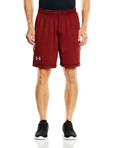 (Small RedRed) - Under Armour Men's Raid Printed 20cm Shorts. Shipping is Free