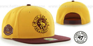 Cleveland Cavaliers 47 Brand Sure Shot Two Tone NBA Snapback Authentic