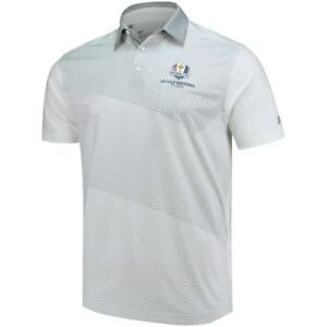 Under Armour White 2018 Ryder Cup Vivid Print Performance Polo