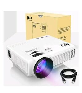 DR.J 4Inch Mini Projector with 170