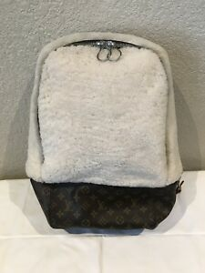Louis Vuitton Limited Edition New Marc Newson Fleece Super Backpack