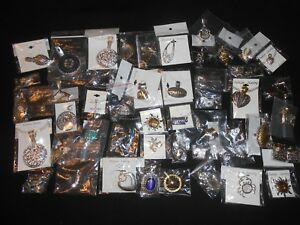 Wholesale LOT - 50 Slider Pendants Charms Quality Fashion Costume Jewelry