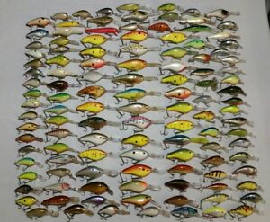 Huge Lure Lot Of 120 Fishing Lures