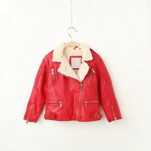 Modern Winter Children's Faux Leather New Comfortable Jackets For Boys And Girls