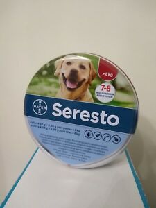 Seresto collar large dog over 18 lbs 275 inch fleas ticks treatment