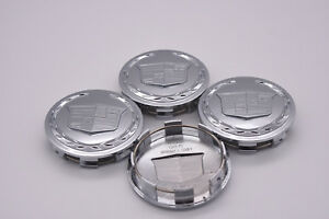 4 x Chome Center Cap 3.25 For Cadillac Escalade 2005 2013 18 20 22 9595891