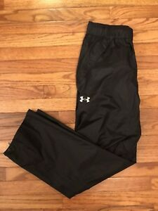 NWT UNDER ARMOUR Golf Storm3 Black Pants Waterproof Windproof X-Large Loose New