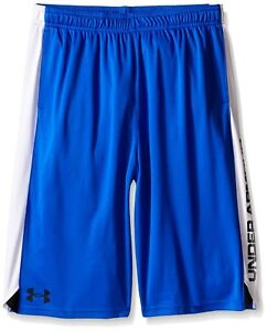 (Youth Large Ultra Blue (907)Black) - Under Armour Boys' Eliminator Shorts