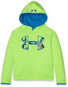 (Youth X-Large Quirky LimeCruise Blue) - Under Armour Boys' Armour Fleece