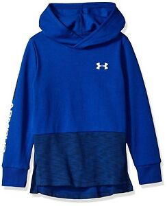 (Youth X-Large Royal (400)White) - Under Armour Boys Double Knit Hoodie