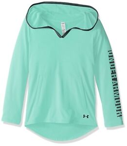 (Youth X-Large CrystalBlack) - Under Armour Girls' Tech Hoodie. Brand New