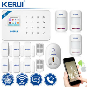 KERUI W18 WIFI GSM SMS Home Burglar Security Alarm System Wireless Smart Socket