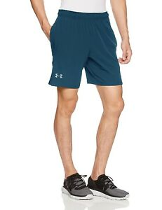(XXX-Large True InkGreen Typhoon) - Under Armour Men's Cage Shorts