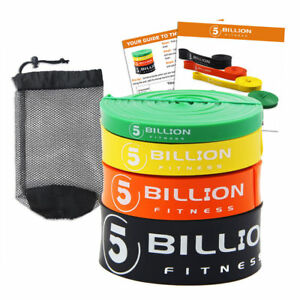 5BILLION Latex Resistance Streching Band - Pull Up Assist Bands Exercise