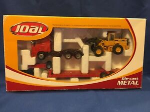 Joal Volvo FH-12 Globetrotter XL & L70C Wheel Loader 1:50 Brand New