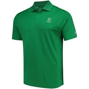 Under Armour TPC Scottsdale Kelly Green Performance Polo