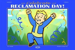 Fallout 76 - Limited Edition of 76 - Reclamation Day Lithograph  Poster