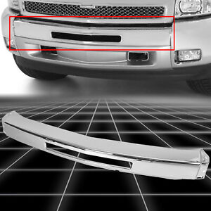 NEW Chrome Steel Front Bumper Impact Face Bar for 2007 2013 Chevy Silverado 1500 $79.50