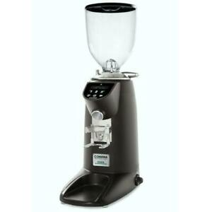 Compak E10 Conic Electronic Espresso Coffee Grinder On-Demand Conical Burrs 68mm