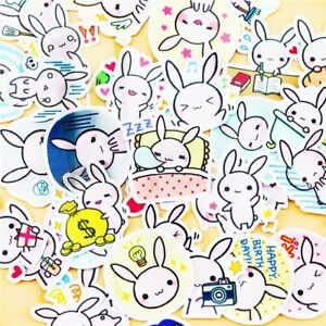 Cute Bunny Stickers for Bullet Journaling/ Scrapbooking