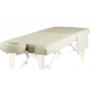NEW MASSAGE TABLE DELUXE BRUSHED FLANNEL 3pc SHEET SET-FITTED, FLAT