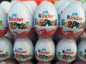 10x chocolate eggs Kinder classic with surprise toy inside
