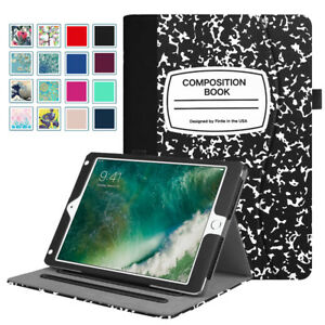 For iPad 6th Generation 9.7 A1893 A1954 Folio Case Cover Stand Multi Angles $12.79