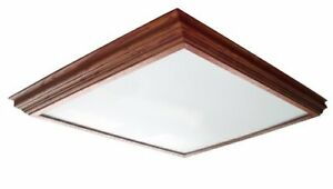 Lighting by AFX CCM2U3R8 Winchester Crown Molding Wood Frame 2-Lamp Fixture with