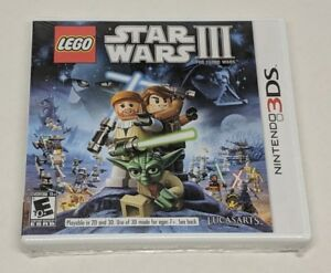 LEGO Star Wars III: The Clone Wars Nintendo 3DS 2011 NEW NIS Sealed Lucasarts