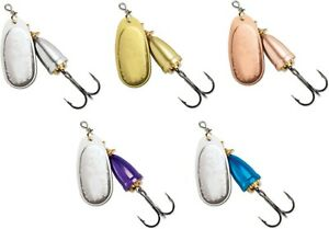 Blue Fox Classic Vibrax Plated Series Inline Spinner Trout amp; Salmon Lure