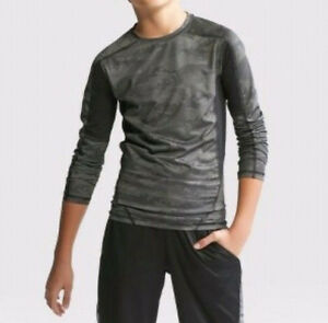 C9 Champion Boys Long Sleeve Power Core Fitted Duo Dry Shirt Select Size 3924 $11.99