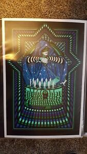 2013 Pearl Jam Worcester Show Edition  Poster - Brad Klausen