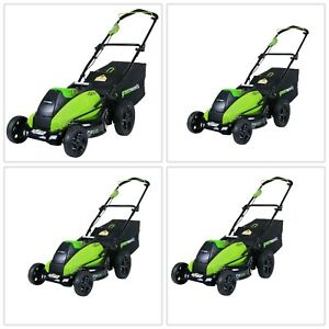 Lawn Mower Brushless Durable Mulcher Trimmer Outdoor Cutter Adjustable Sturdy