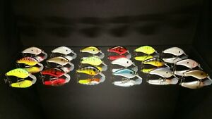 Mimic Flatside Balsa  ( Lure Lot Of 18) Fishing Lures